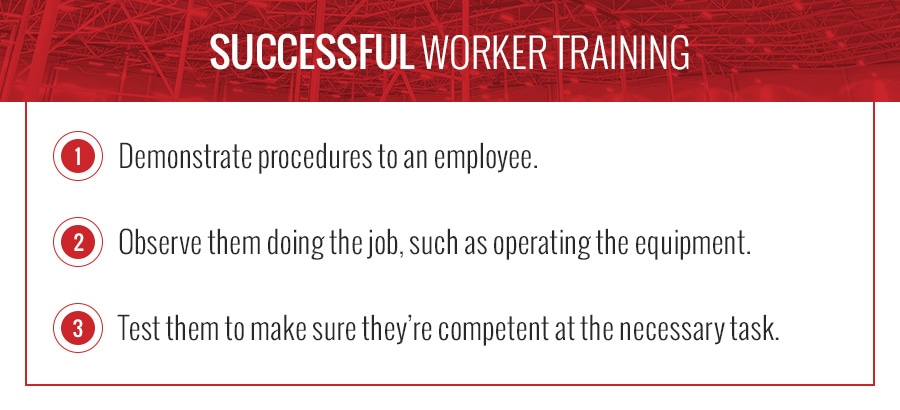 Successful Worker Training in the Warehouse