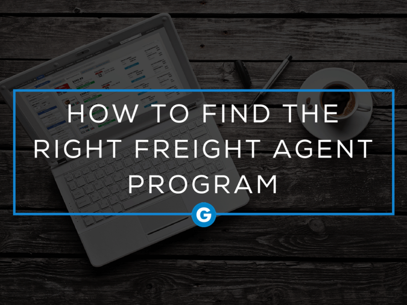 How to Find the Right Freight Agent Program