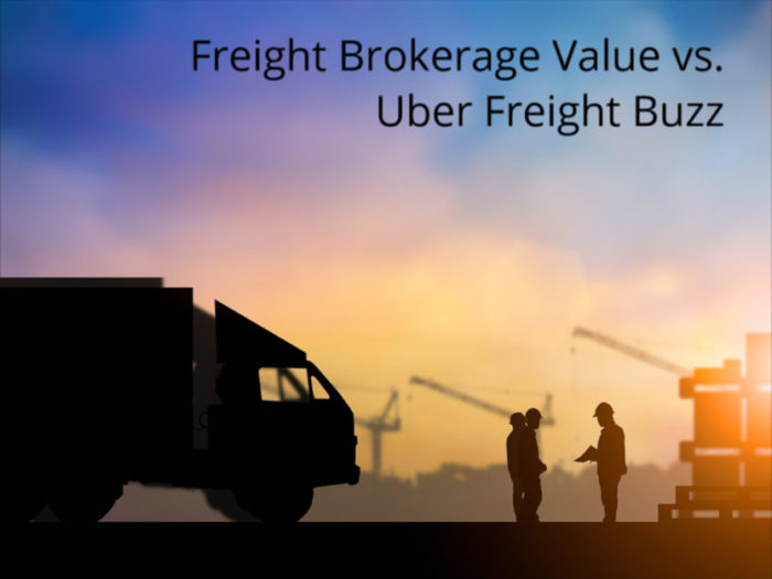 Freight Brokerage Value vs  Uber Freight Buzz - GlobalTranz