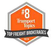 8th Ranked Top Freight Provider - Transport Topics