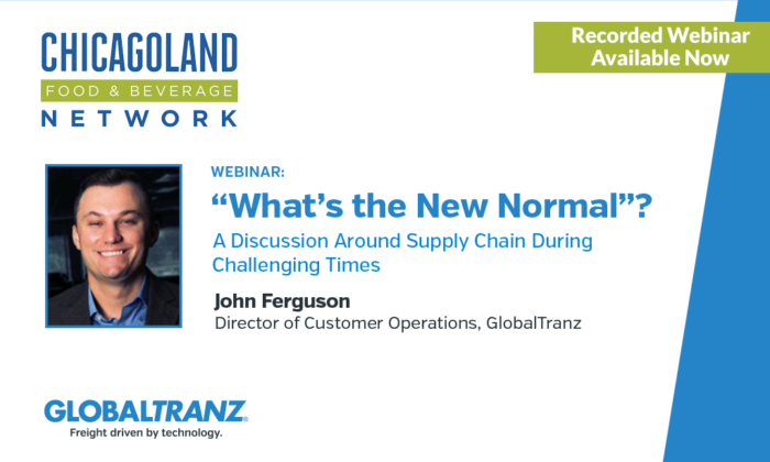 Webinar: What's the New Normal? A Discussion Around Supply Chain