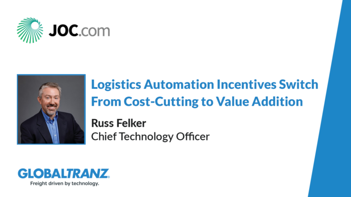 Logistics Automation Incentives Switch From Cost-Cutting to Value Addition