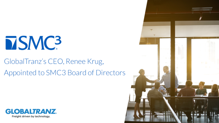 GlobalTranz CEO Renee Krug Named to SMC3 Board of Directors