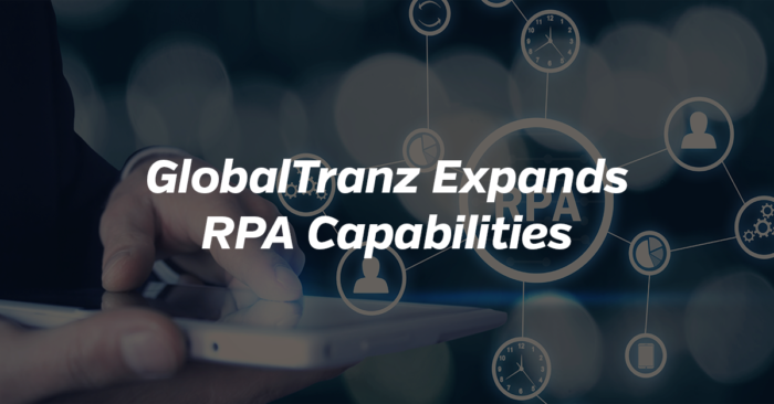 GlobalTranz Expands RPA Capabilities