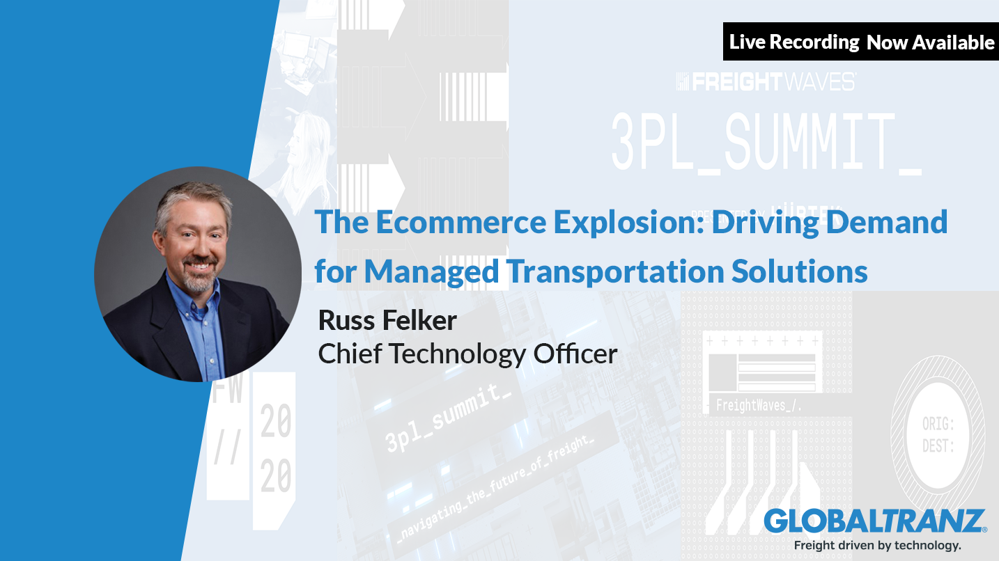 Russ Felker speaks on Ecommerce and Reverse Logistics at FreightWaves Live 3PL Summit