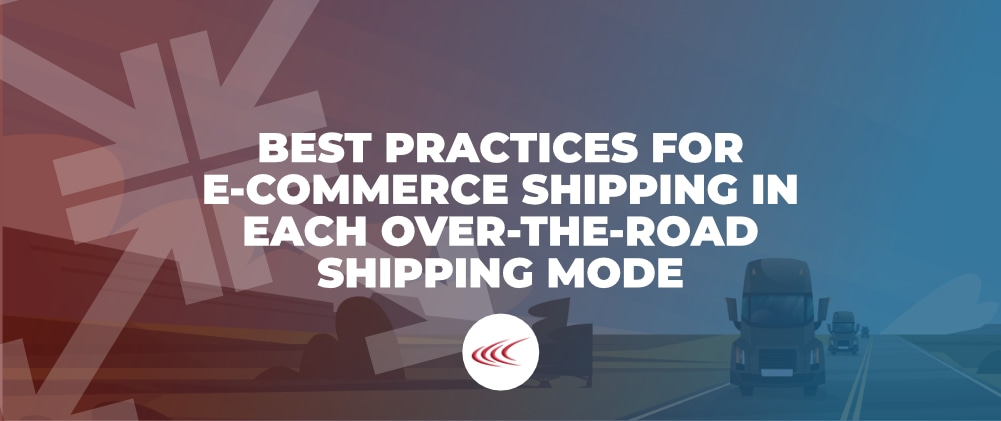 Best Practices for E-Commerce Shipping