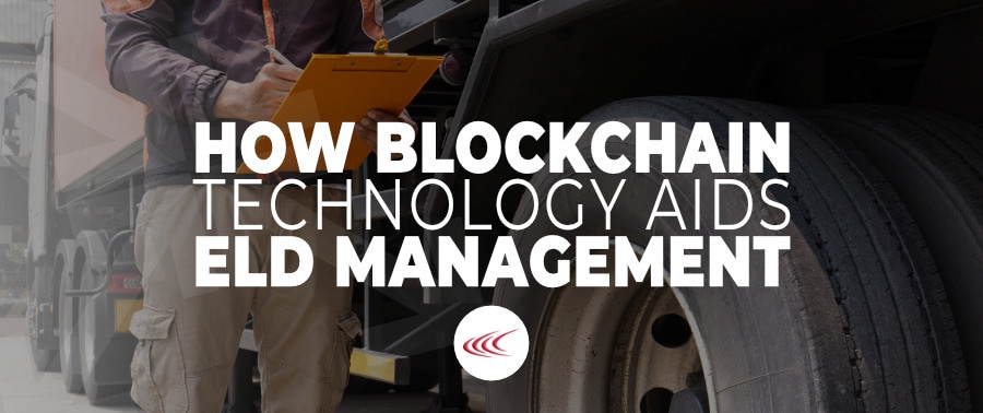 Blockchain for ELD Roadcheck
