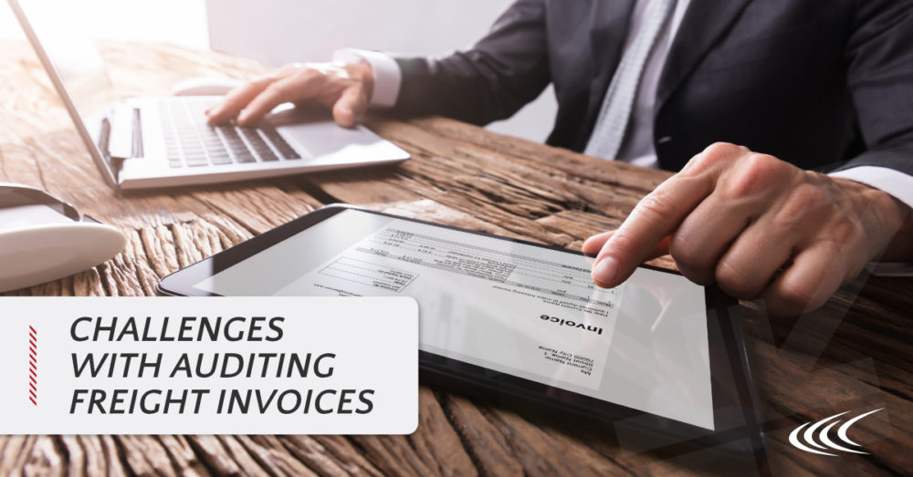 Auditing Freight Invoices