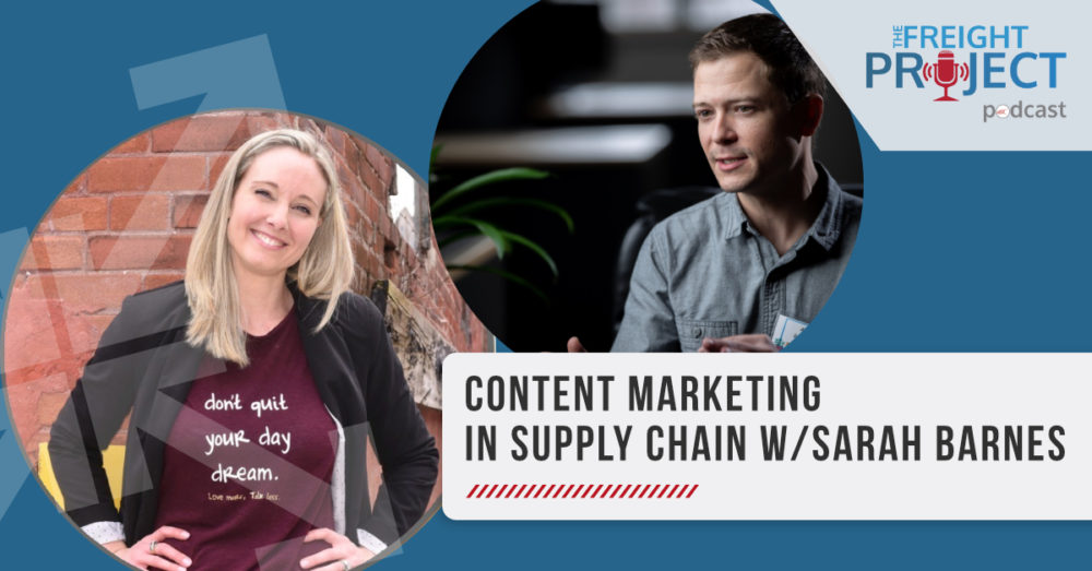 Content Marketing in the Supply Chain Cerasis podcast