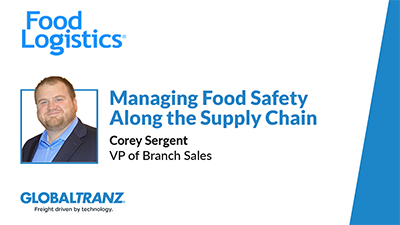 Managing Food Safety Along the Supply Chain