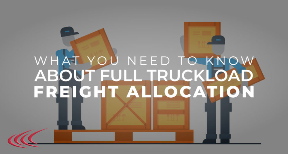 Freight Allocation