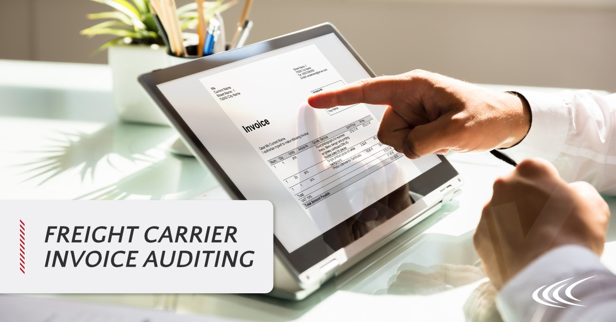 Freight Carrier Invoice Auditing