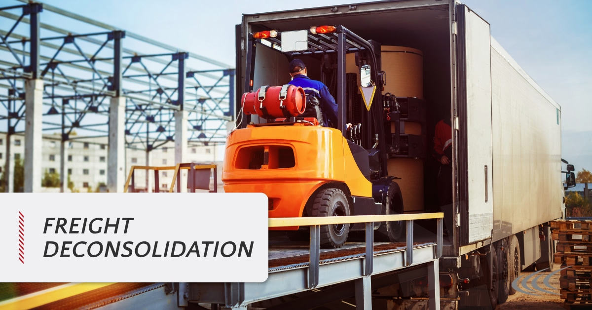 Freight Deconsolidation