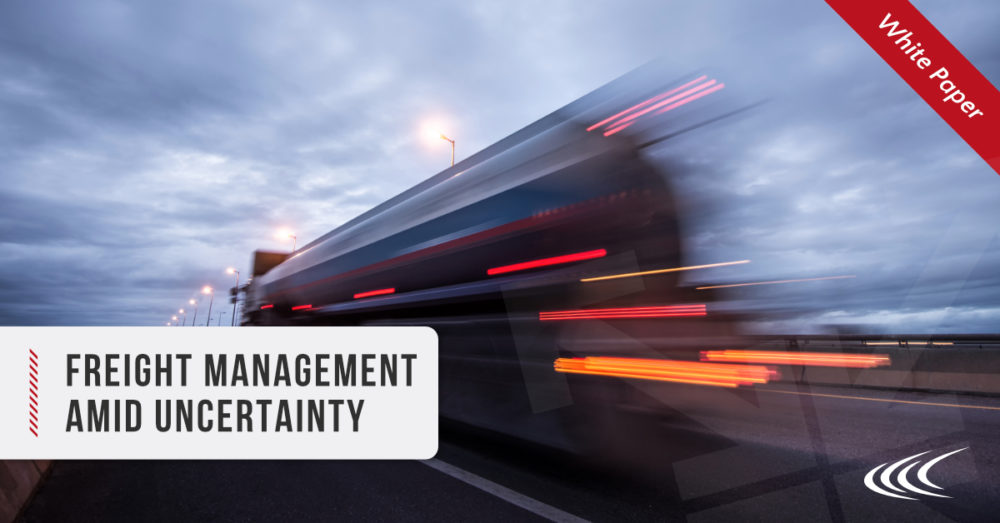 Freight Management Amid Uncertainty