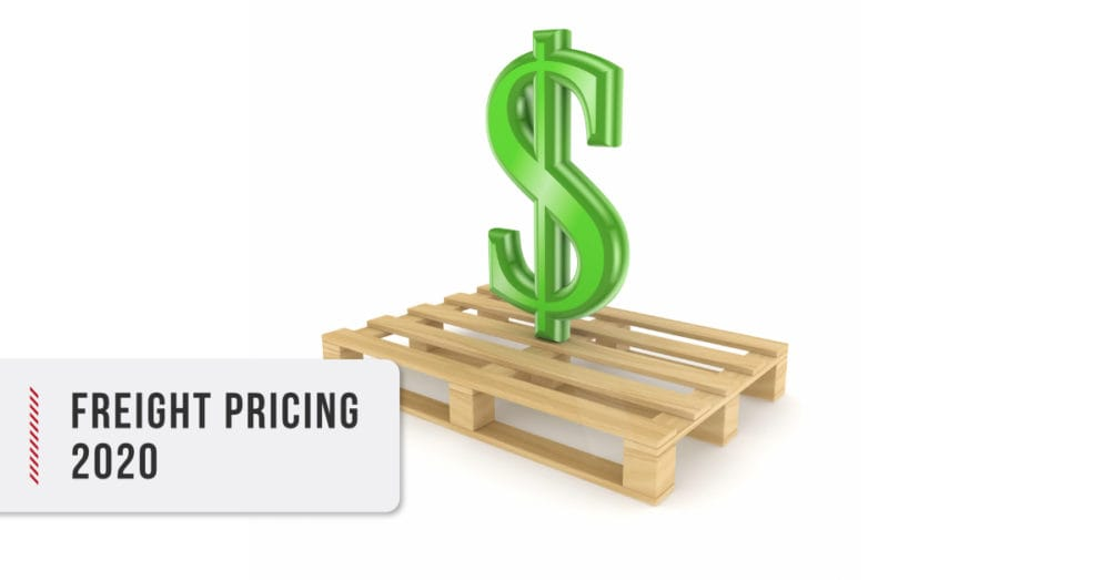 Freight Pricing trends 2020