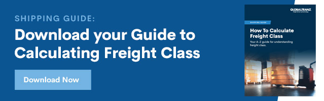 Download GlobalTranz's guide to LTL Freight Class
