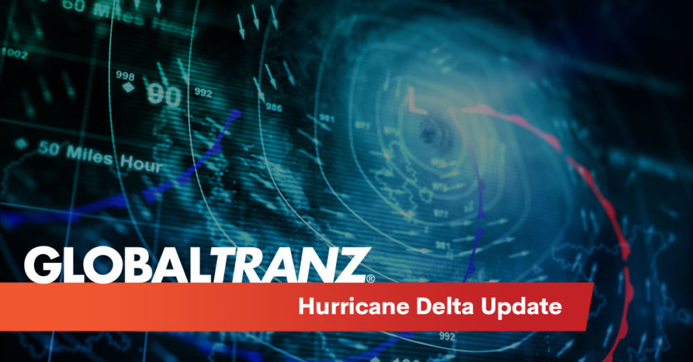 Hurricane Delta is projected to grow