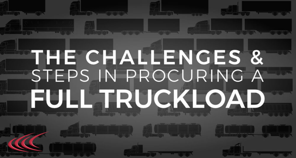Procuring a Full Truckload
