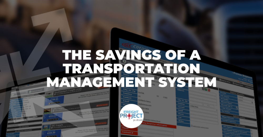 Savings of a Transportation Management System