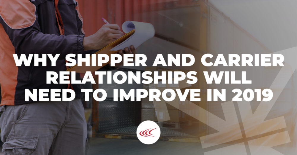 Shipper and Carrier Relationships