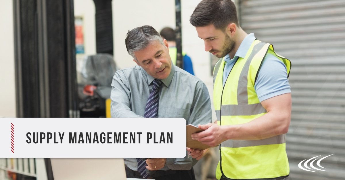 Supply Chain Management Plan