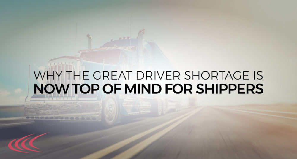 The Great Driver Shortage