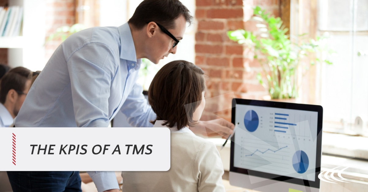 The KPIs of a transportation management system