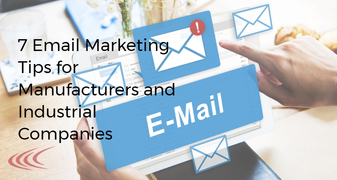 email tips for manufacturers
