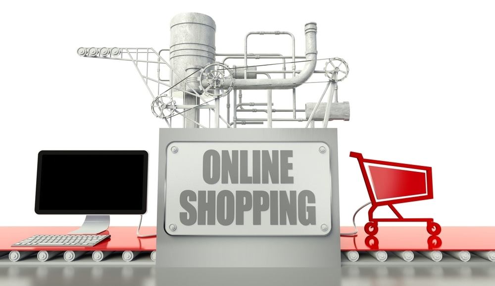 application of e commerce in manufacturing and distribution