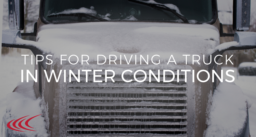 driving a truck in winter