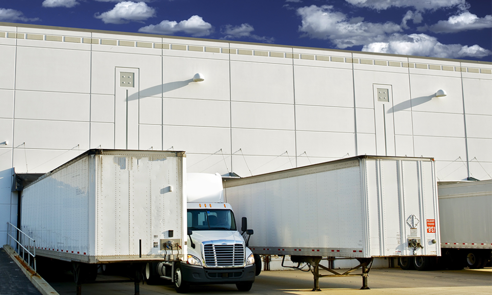 Drop Trailers at Loading Dock
