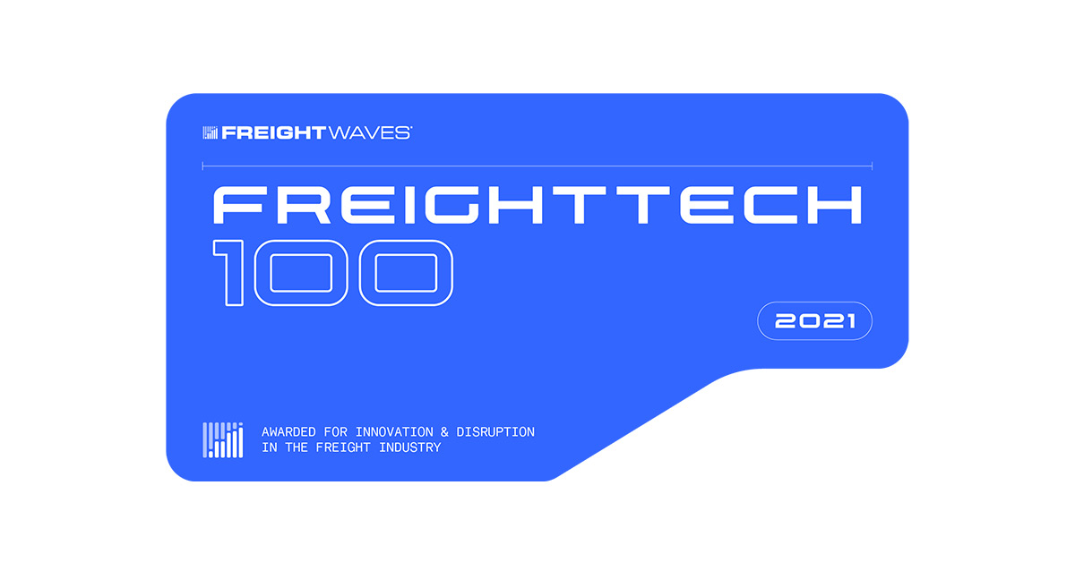GlobalTranz is recognized for the 2021 FreightTech Award by FreightWaves