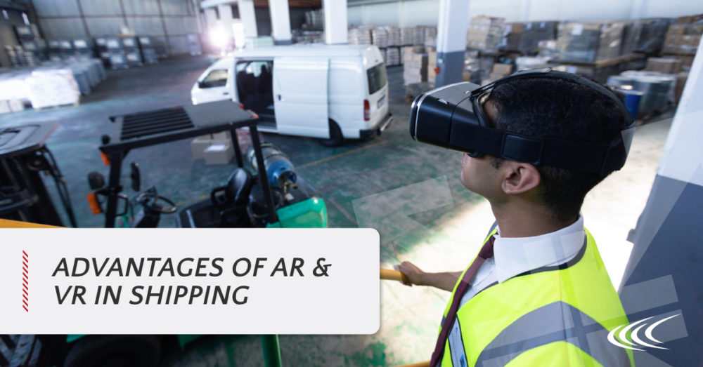 logistics and shipping AR and VR