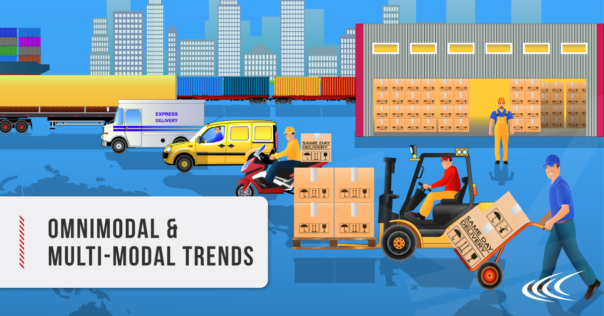 multi-modal shipping trends