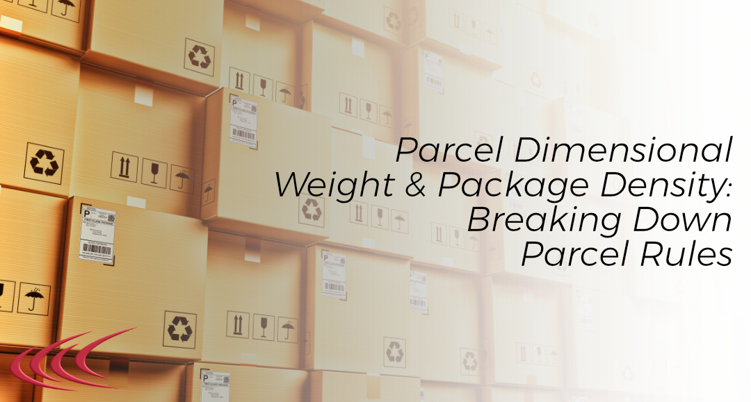 parcel dimensional weight