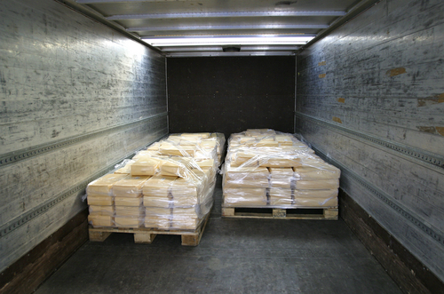 shipping frozen food freight