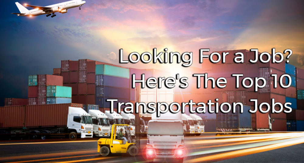 transportation jobs