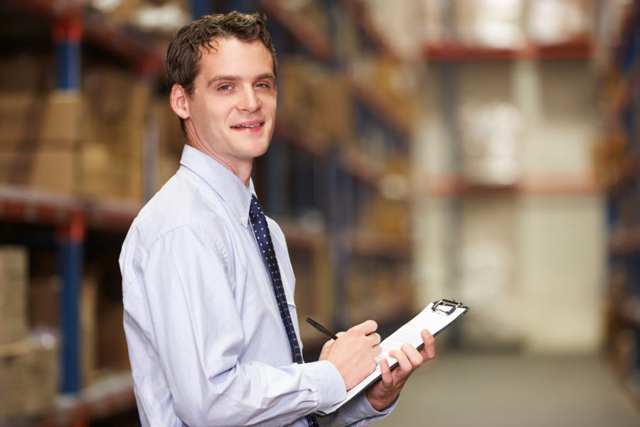 warehouse traffic management