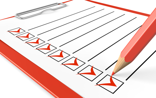 warehouse traffic management checklist